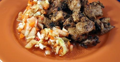Haitian Fried Pork (Griot)