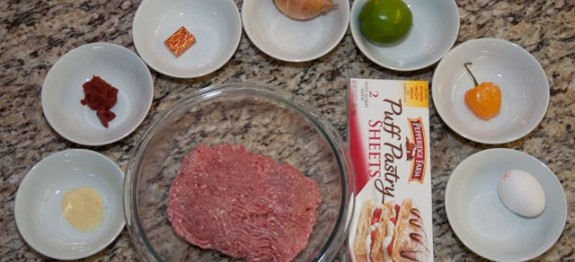 Haitian Pate ingredients from haitiancooking.com