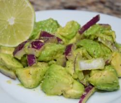 Haitian Avocado Salad