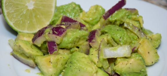 Caribbean Salads Ready To Go: Haitian Avocado Salad (Salad Zaboka
