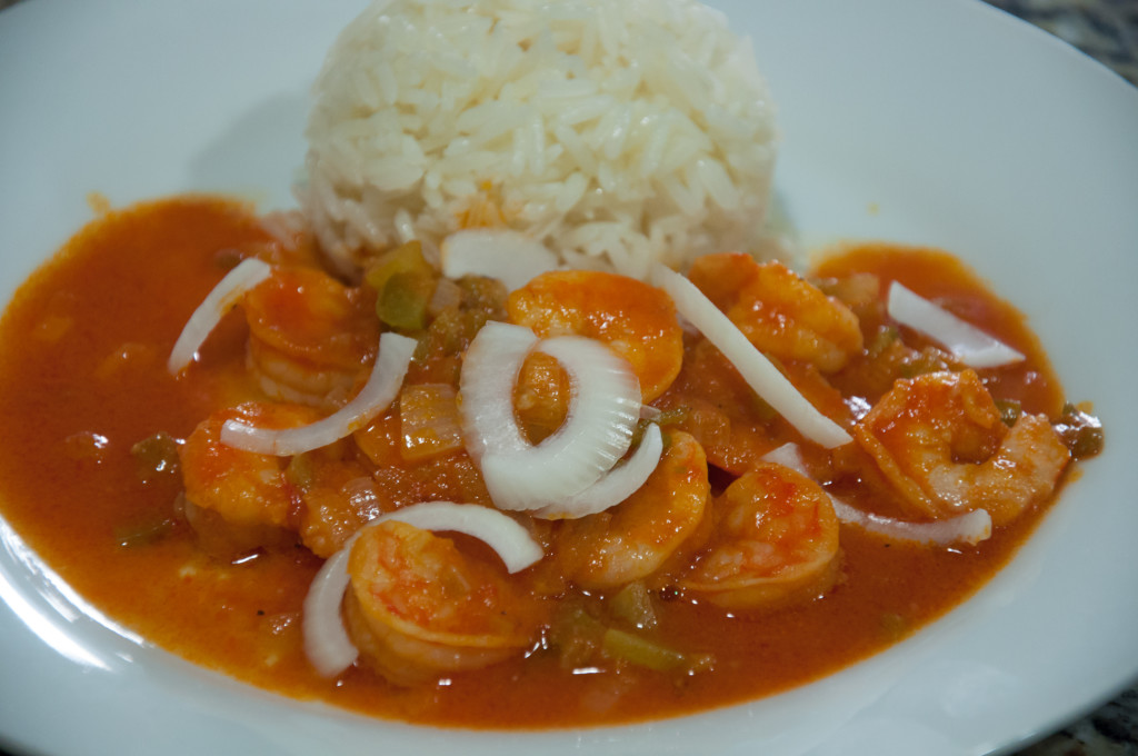 Haiti Wedding Traditions Food: Haitian Shrimp (Kribich Nan Sòs